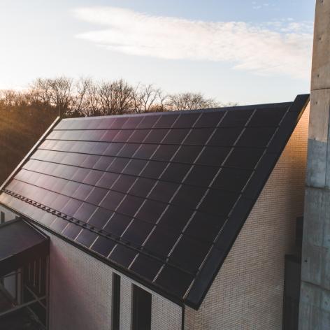 Solar roof integrerte solceller