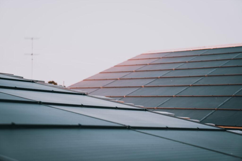 Integrert solcelletak solceller løsning