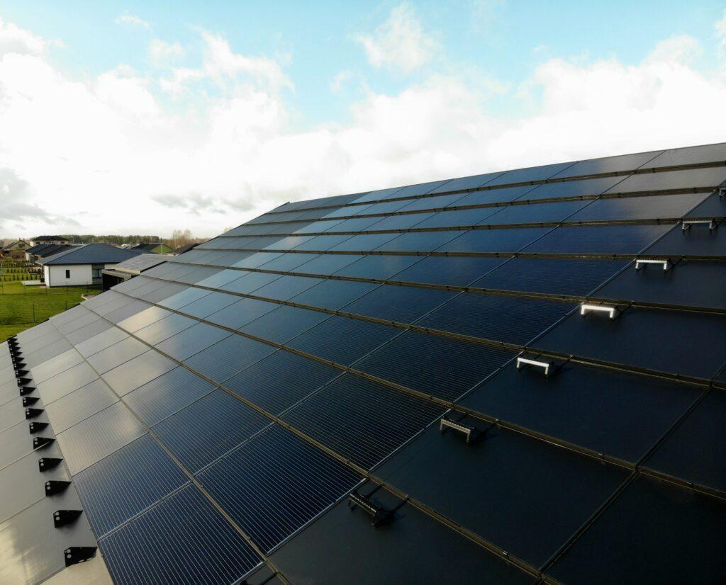 Integrerte solceller