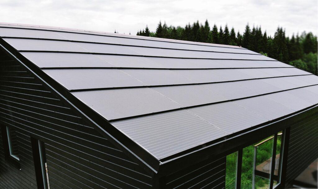 solar roof integrert solcelle