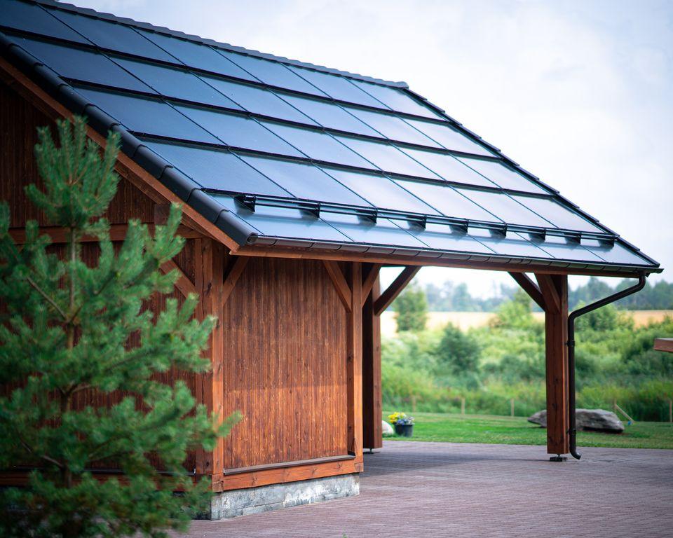 Solar Roof Garasje